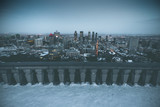 Evening view from Mount Royal - Montreal