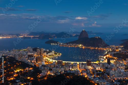Canvastavla Mountain Sugarloaf, Rio de Janeiro, Brazil