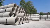 precast concrete water drainage pipe - 139180838