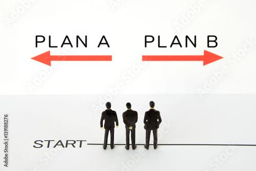 Poster ビジネスイメージ―プランの選択