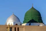 Prophet's tomb is under the green dome. - 139188668