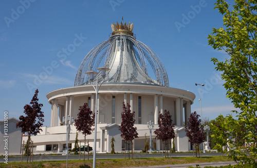 Fototapeta Świątynia katolicka w Toruniu, Polska