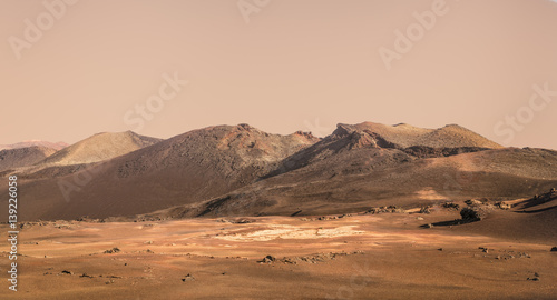 Foto op Aluminium Nasa Planet Mars fictional landscape