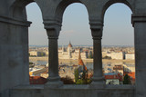 Blick aufs Parlementsgebäude in Budapest