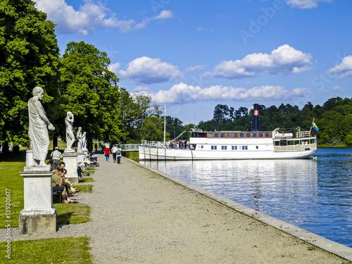 Foto op Canvas Stockholm Stockholm, Drottningholm Castle, Sweden, Uppland, Drottningholm