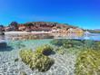 clear sky over Alghero shoreline