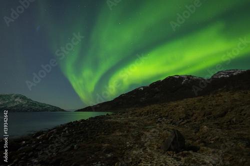 Aluminium Noorderlicht Nordlicht / Polarlicht - Northern Light - Aurora borealis