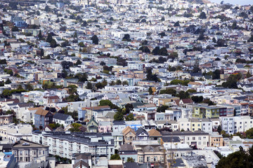 San Francisco's Noe Valley district.