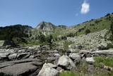 Pic de la Camisette dans les Pyrénées ariégeoises, Occitanie dans le sud de la France