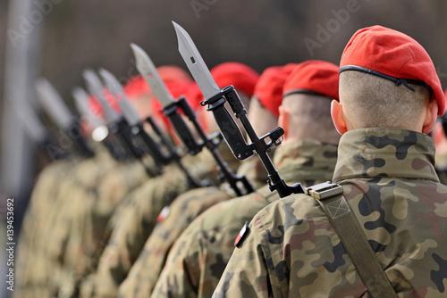 Polska armia.