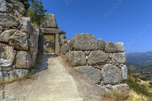 Mycenae is an archaeological site in Greece.