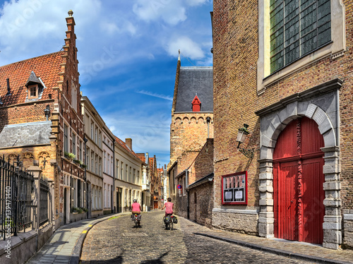 Plexiglas Brugge Sunny day