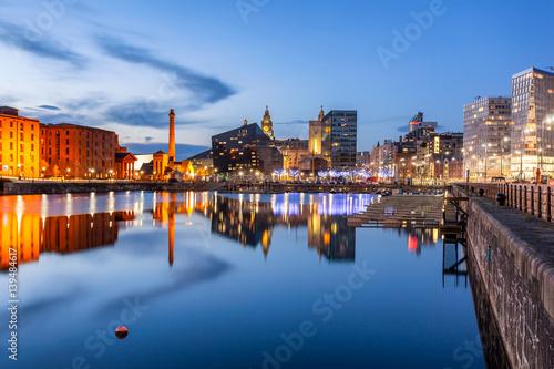 Foto op Aluminium Scandinavië Liverpool Albert dock England Uk