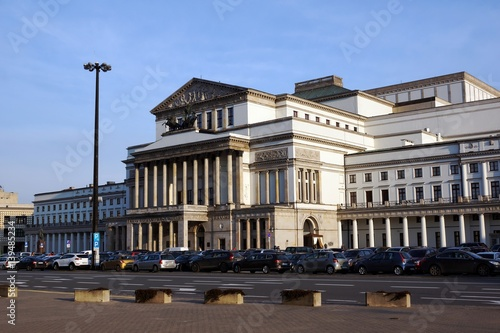 Grand Theatre and National Opera in Warsaw, Poland