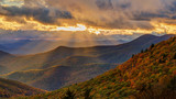 Autumn Sunset on the Blue Ridge Parkway