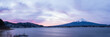 Kawaguchiko lake and mt.Fuji
