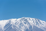 Iwate volcano,Japan in winter