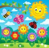 Happy flowers topic image 3
