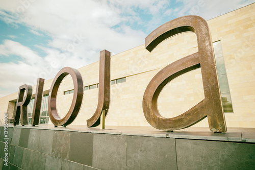 The big letters messaging rioja