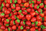 Strawberry. Fresh organic berries macro. Fruit background - 139579677