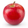Quadro Red apple isolated on white background. Fresh raw organic fruit.