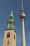 Berlin Fernsehturm - Alexanderplatz