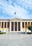 the University of Athens Greece - sightseeing architecture landmarks
