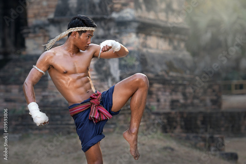 Martial arts of Muay Thai,Thai Boxing, Muay Thai. Poster