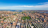 Aerial view of the Bronx, NY - 139643880