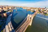 Brooklyn Bridge over the East River in New York