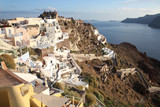 Historic village Oia on Santorini Island, Cyclades Islands, Greece