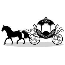 Decorative Brougham Coach Sticker