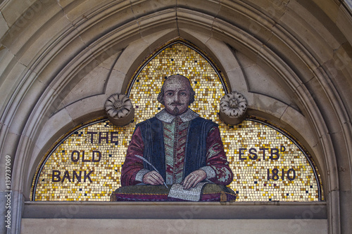Poster Shakespeare Mosaic in Stratford-Upon-Avon