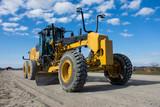 Grader on Highway Construction