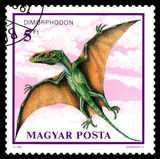 Postage stamp. Dimorphodon.
