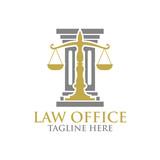 Law logo - 139762822