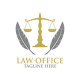 Law logo - 139762842