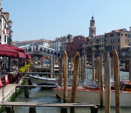 Deurstickers Amsterdam il canale di Venezia
