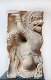 Ancient Garuda statue at National museum Bangkok
