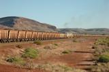 Pilbara iron ore railway