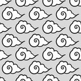 seamless chinese cloud pattern - 139807822