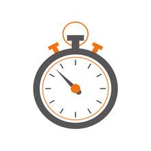 Sport Chronometer Timer Icon  Illustration Graphic Design Sticker