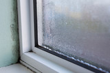 House Window With Damp And Condensation - 139820616