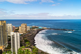 View over Puerto de la Cruz- Tenerife, Canary islands