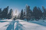 raggi di sole invernali