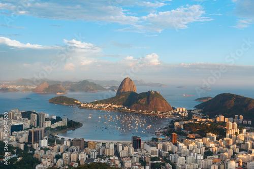 Poster Mountain Sugarloaf , Rio de Janeiro, Brazil