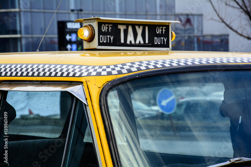 Papiers peints New York TAXI Такси