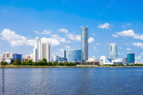 Foto op Aluminium Toronto Yekaterinburg city center skyline