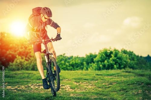 Poster Extreme Mountain Biking