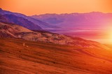 Sunset Scenery of Death Valley